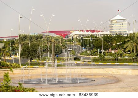 Abu Dhabi World Theme Park Building in United Arab Emirates