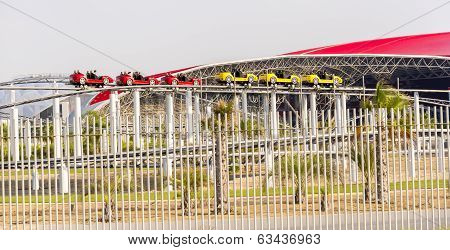 Abu Dhabi World Theme Park Building in United Arab Emirates