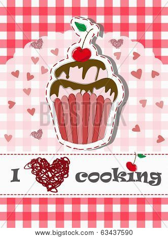I love cooking and baking, with tasteful cupcake