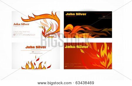 Business Fire Card