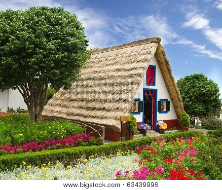 Typical Souvernir Flower Shop House, Madeira