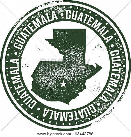Vintage Guatemala Central America Stamp