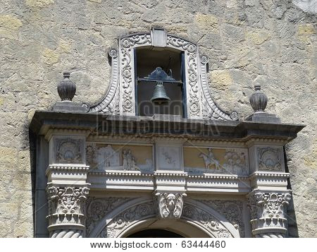 Beautiful Carved Stone in Historic Building
