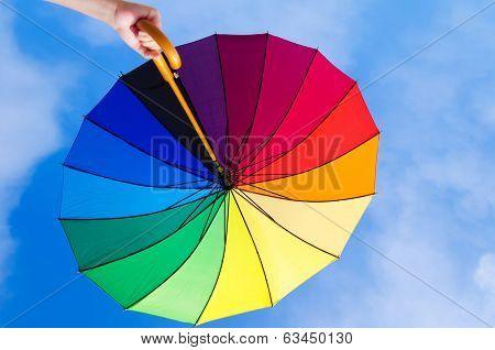Rainbow Umbrella's Background