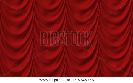 Luxus red drapes
