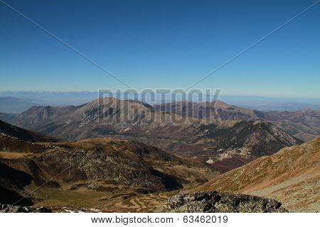 Mountain masiv