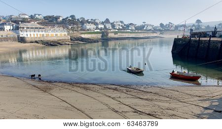 St Mawes harbour Cornwall