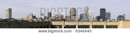 XXXL Panorama der Innenstadt von Cleveland
