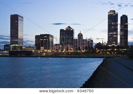 Nacht in milwaukee