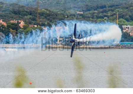 Rovinj, Croatia - April 13 2014 At Red Bull Air Race Event