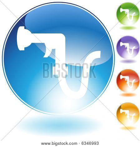 Garden Hose Crystal Icon