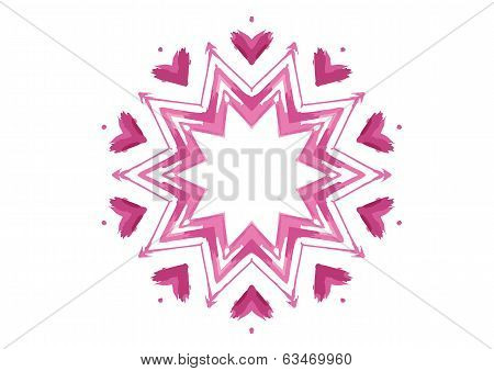Vector Abstract Color Shape
