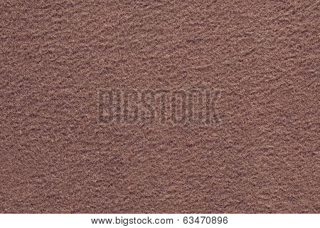 Brown Red Texture Of Fleecy Fabric