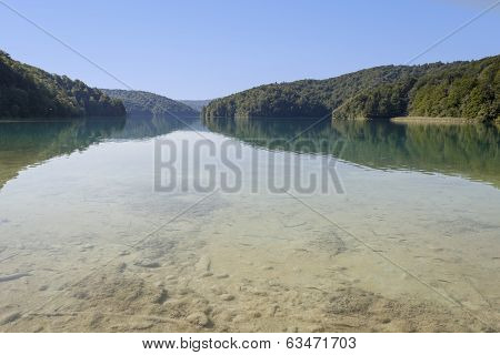 Lake In Plitvice, Croatia