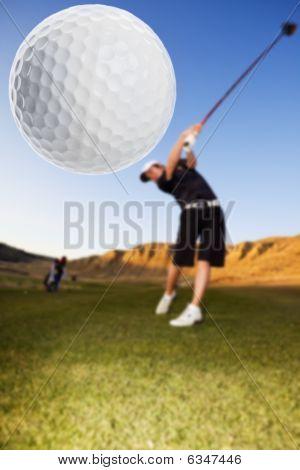 Coche de golf