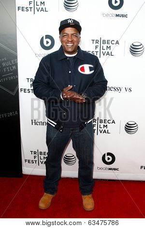 NEW YORK-APR 16: Ralph McDaniels attends the world premiere of