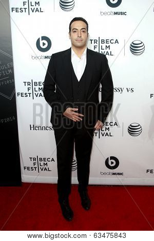 NEW YORK-APR 16: Mohammed Al Turki attends the world premiere of