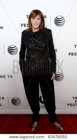 NEW YORK-APR 16: Jane Rosenthal attends the world premiere of