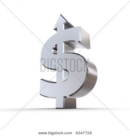 Dollar Symbol Arrow Up