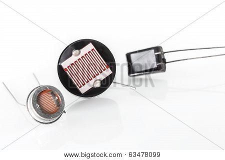 Photoresistors With Different Light Sensitivity