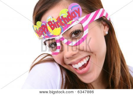 Birthday Girl Isolated