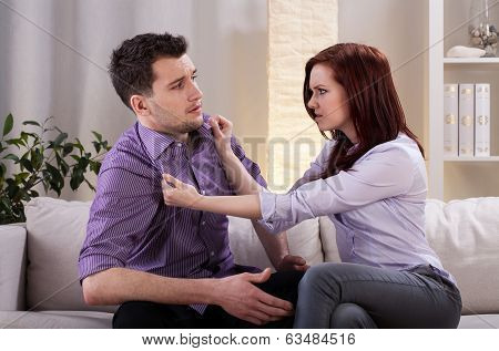 Girlfriend Using Violence