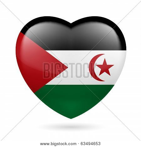 Heart icon of Sahrawi Arab Democratic Republic