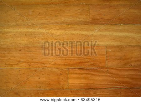Fir wood floor