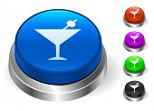 Martini Icons on Round Button Collection