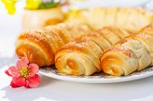 Vanilla Custard Stuffed Pastry