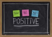 foto of positive thought  - think do be positive  - JPG