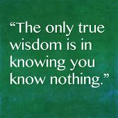 picture of socrates  - Inspirational quote by ancient Greek philosopher Socrates - JPG