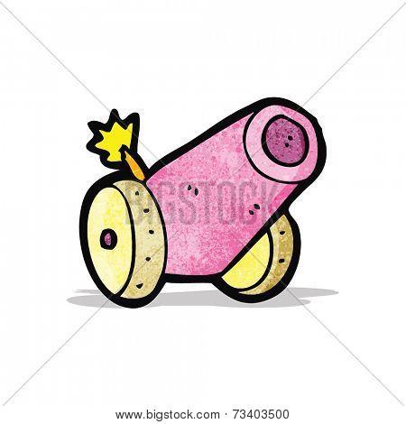 cartoon circus cannon