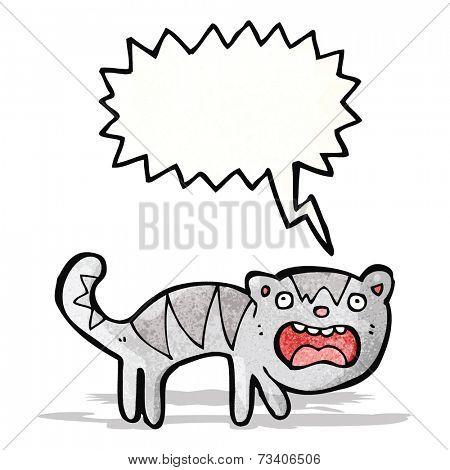 screeching cat cartoon