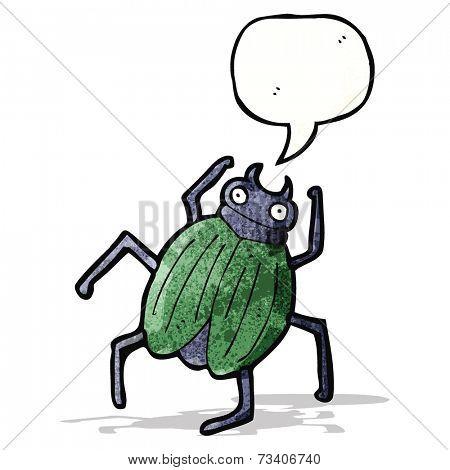 cartoon giant beetle