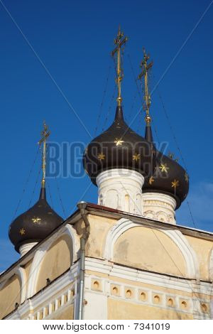 Old Orthodox Church In Vologda, Russia