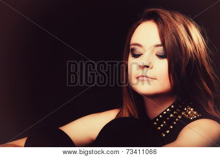 People Concept - Teenage Girl Portrait