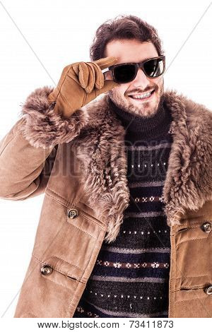 Sunglasses And Coat