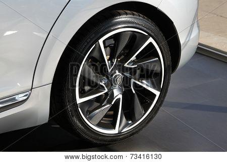Citroën Ds5 Rear Tire