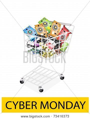 Computer Hardware in Cyber Monday Shopping Cart