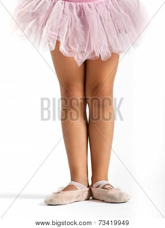 Legs Of A Little Girl Dancer