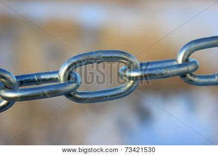 Linked Steel Chain