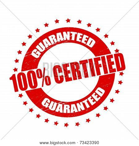 One Hundred Percent Certified