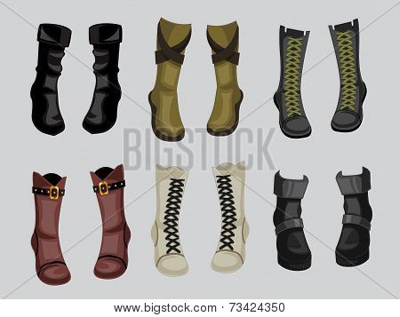 Fashion of Boots Collection