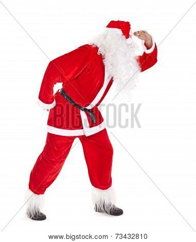 Santa Claus Look Far Away