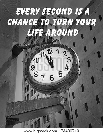 City Clock quote