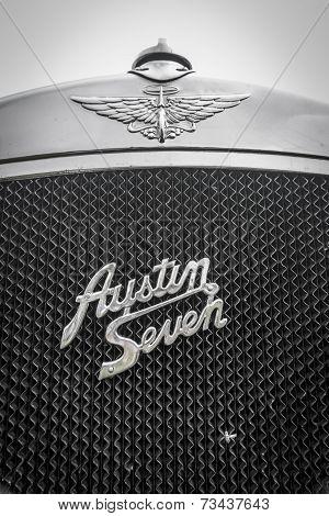 Austin Seven Radiator Grill Detail
