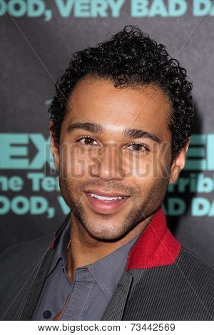 LOS ANGELES - OCT 6:  Corbin Bleu at the