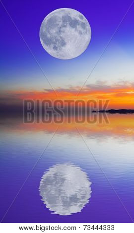 Moon Reflection
