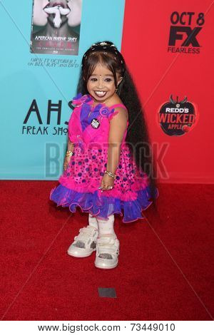 LOS ANGELES - OCT 5:  Jyoti Amge at the